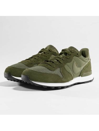 Nike Hombres Zapatillas de deporte Internationalist in oliva