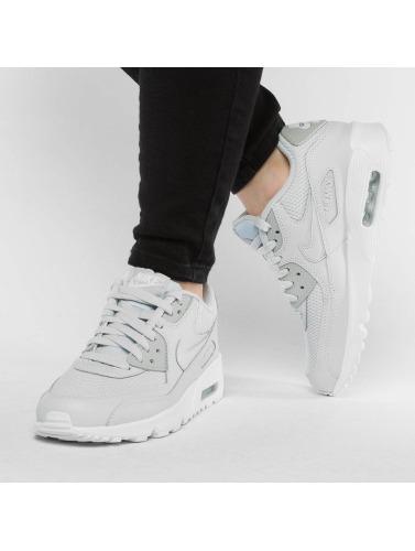 Nike Zapatillas de deporte Air Max 90 Mesh (GS) in plata