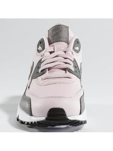 Nike Zapatillas de deporte Air Max 90 Leather (GS) in rosa