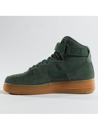 Nike Mujeres Zapatillas de deporte Air Force 1 Hi Se in verde