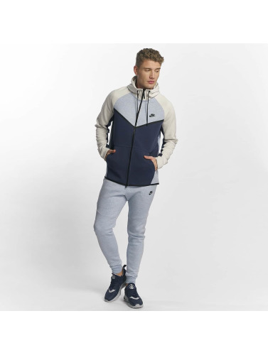 Nike Herren Zip Hoodie NSW Tech Fleece in grau