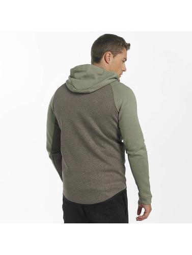Nike Herren Zip Hoodie NSW Tech Fleece in grün