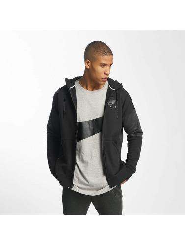 Nike Herren Zip Hoodie NSW Air in schwarz