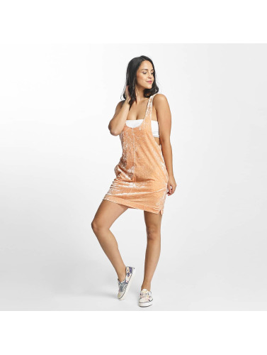 Nikita Mujeres Vestido Fauna in naranja