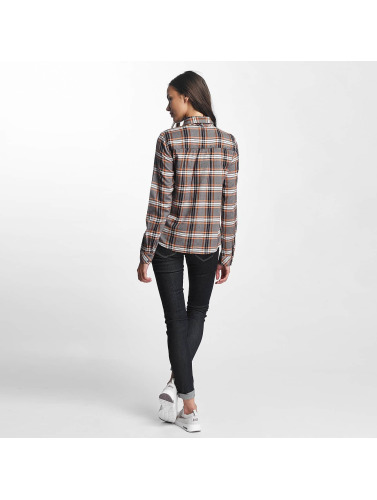 Noisy May Mujeres Blusa / Túnica nmErik Pussybow in gris