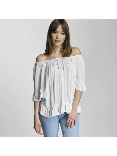 Noisy May Damen Bluse NMAlberte in weiß