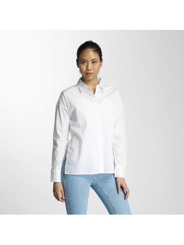 Noisy May Damen Bluse nmDelta in weiß