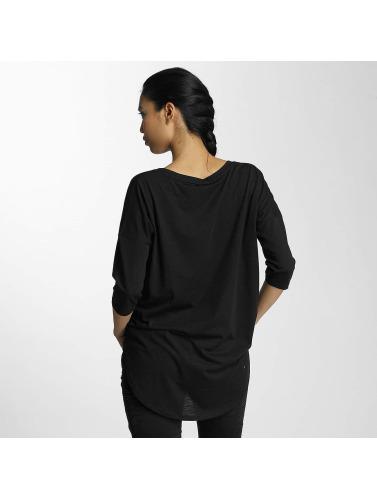 Noisy May Mujeres Camiseta de manga larga nmAnna in negro