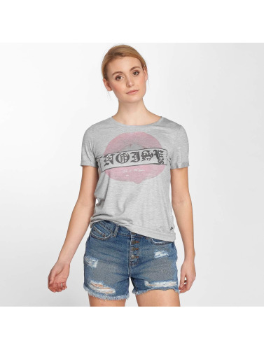 Noisy May Mujeres Camiseta nmFredy in gris