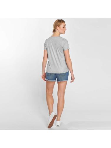 Noisy May Mujeres Camiseta nmFredy in gris
