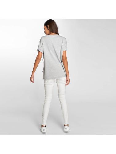 Noisy May Mujeres Camiseta Sara in gris