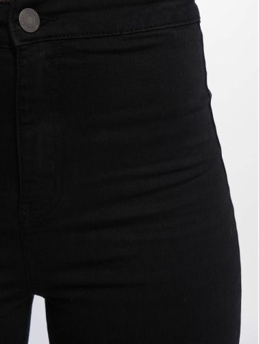 Noisy May Damen High Waist Jeans nmEllaSuper High Waist in schwarz