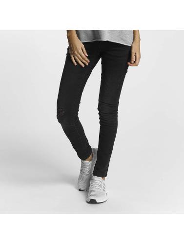 Noisy May Mujeres Jeans ajustado nmEve in negro