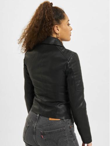 Noisy May Damen Lederjacke nmRebell in schwarz Online-Verkauf Günstig Kaufen Aus Deutschland JLrMGH4dX