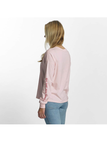 Noisy May Damen Longsleeve nmFrancis in rosa