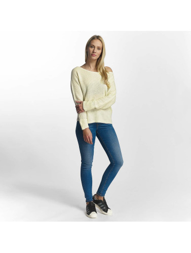 Noisy May Damen Pullover nmAbbey in beige