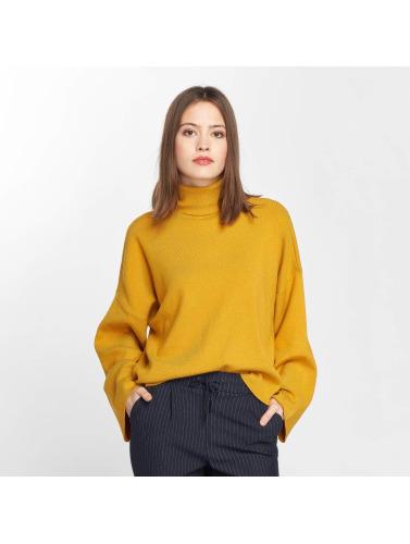Noisy May Damen Pullover nmShip Roll Neck in gelb