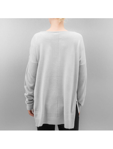 Noisy May Damen Pullover nmChen in grau