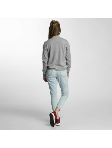 Noisy May Damen Pullover nmBound in grau