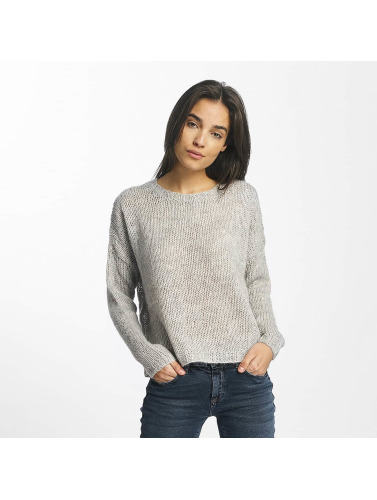 Noisy May Damen Pullover nmJanis in grau