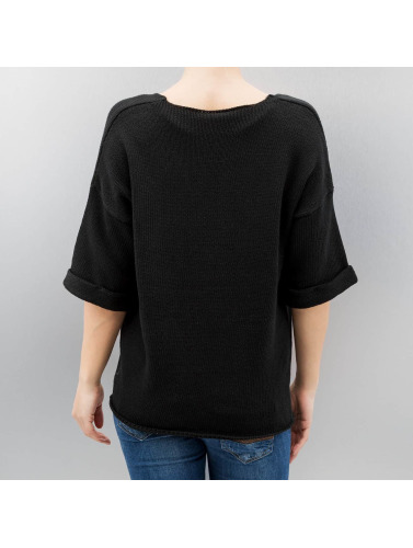 Noisy May Damen Pullover nmMalin in schwarz