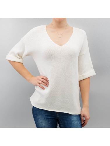 Noisy May Damen Pullover nmMalin in weiß