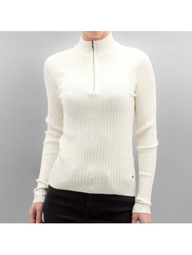 Noisy May Damen Pullover nmRimi in weiß
