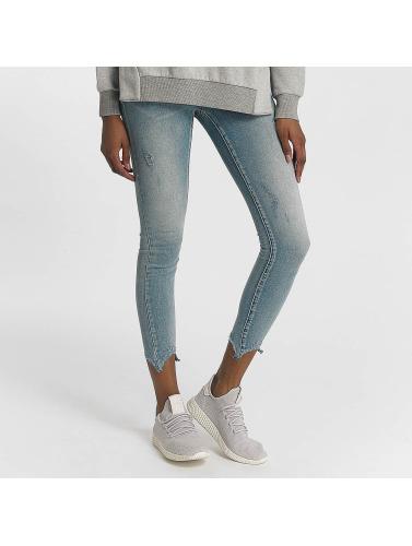 Noisy May Damen Skinny Jeans nmLucy in blau Spielraum Ansicht MjqdnF88l