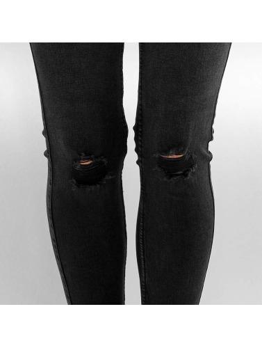Noisy May Damen Skinny Jeans NMLucy in schwarz