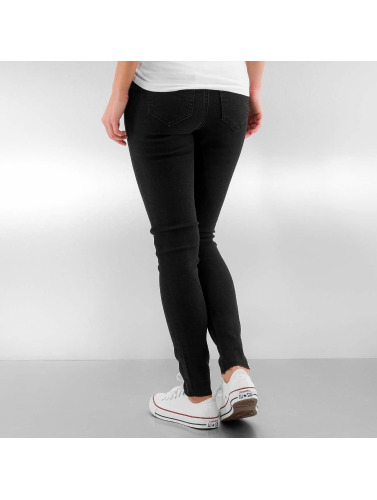 Noisy May Damen Slim Fit Jeans nmLexi in schwarz