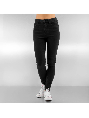 Noisy May Damen Slim Fit Jeans nmLexi in schwarz 2018 Neue gYS6hwN