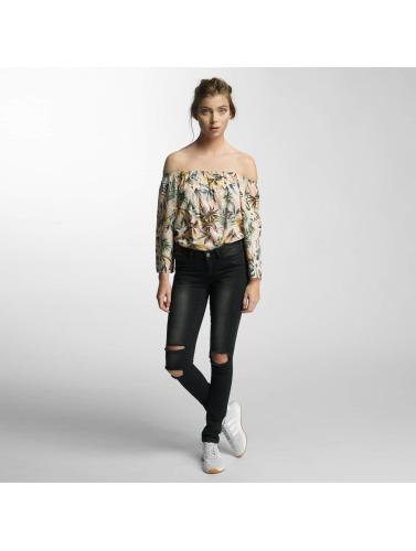 Noisy May Damen Slim Fit Jeans nmEve Super Slim in schwarz