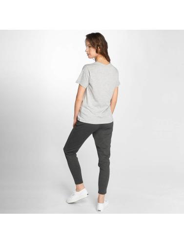 Noisy May Damen T-Shirt nmAlfred in grau