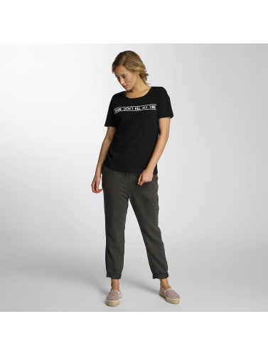 Noisy May Damen T-Shirt nmAlfred Printed in schwarz