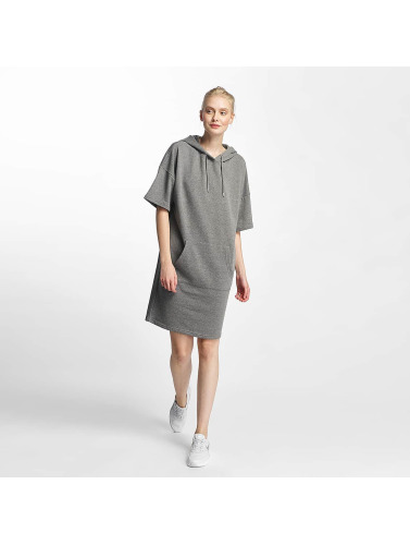 Noisy May Mujeres Vestido nmWillow 3/4 Above Knee in gris