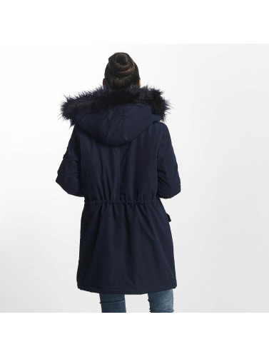 Noisy May Damen Winterjacke nmLove in blau
