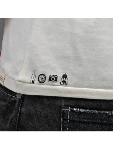 ONEILL Hombres Camiseta Mul in blanco