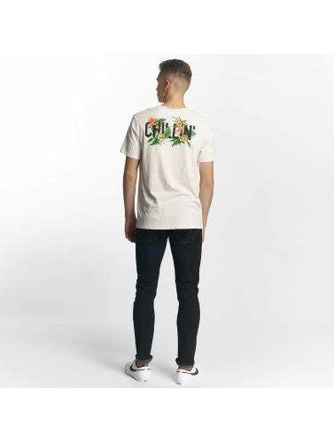 ONEILL Hombres Camiseta Chillin in blanco