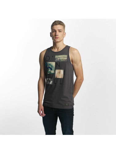 ONEILL Hombres Tank Tops Neos in gris