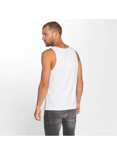 Onepiece Hombres Tank Tops Shade in blanco