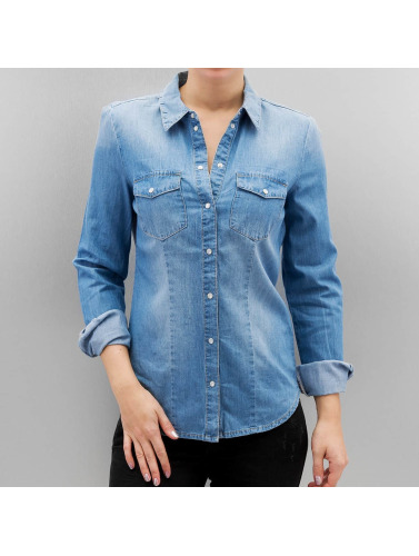 Only Damen Bluse onlRock It in blau