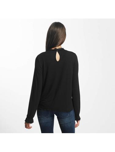 Only Damen Bluse onlNiella Loose Mesh in schwarz