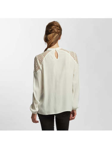 Only Damen Bluse onlSonny Lace Bishop in weiß