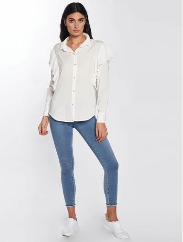 Only Damen Bluse onlBetty Oversized in weiß