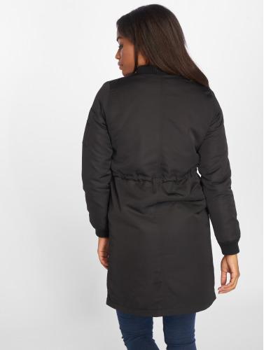 Only Damen Bomberjacke onlElla Long in schwarz