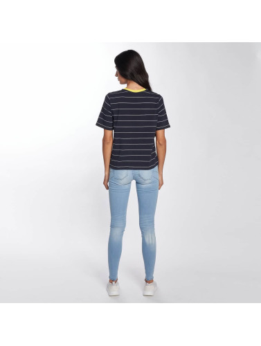 Only Mujeres Camiseta onlLive Love Trendy Stripe in azul