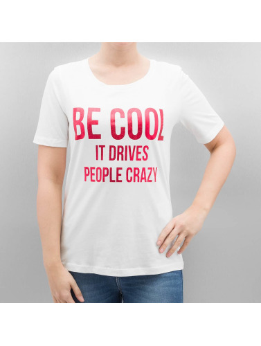 Only Mujeres Camiseta onlFoil Print in blanco