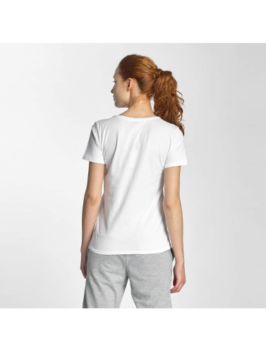 Only Mujeres Camiseta onlCoffe in blanco