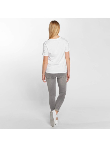 Only Mujeres Camiseta onlBetty in blanco