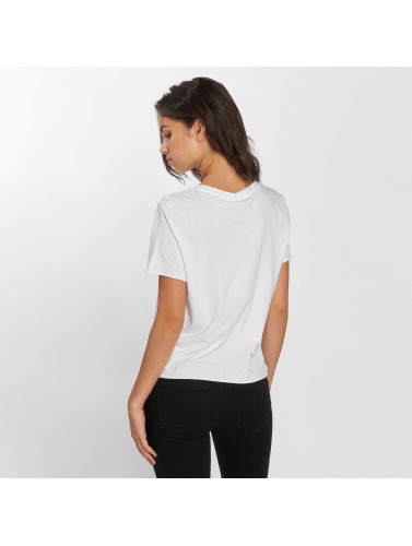 Only Mujeres Camiseta onlJanis in blanco